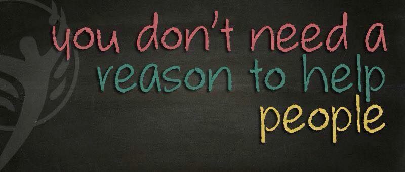 you dont need a reason